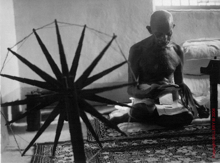 gandhi-spinning-wheel