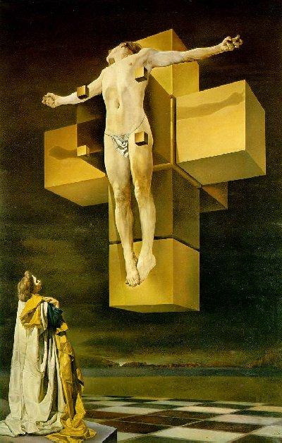 Cristo cúbico de Dali