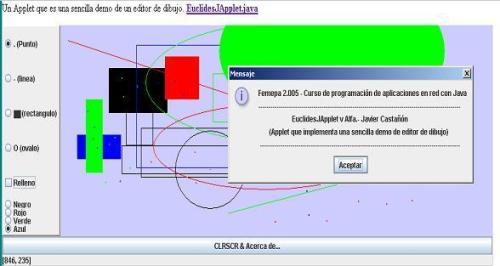 EuclideJApplet