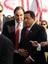 Oliver Stone y Chavez