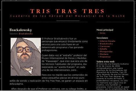 Tris Tras Tres ... los buscadores del manantial de la noche