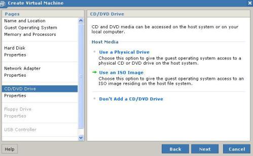 CD-Rom o DVD o imagen ISO