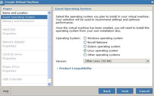 Tipo de sistema: Linux 32 bits