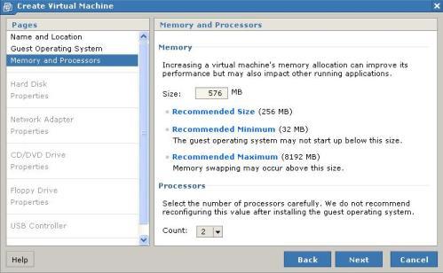 Ram y número de procesadores