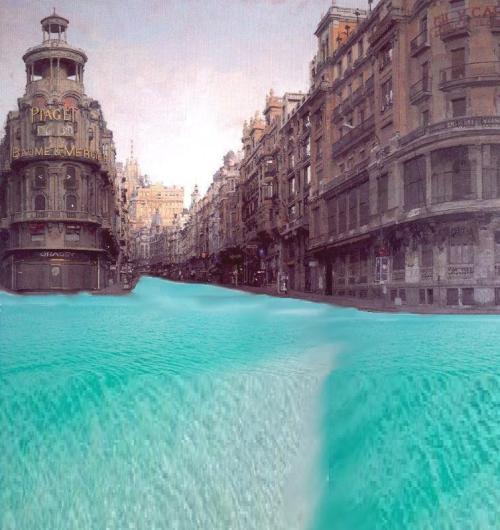 Variación a la gran via de Antonio López