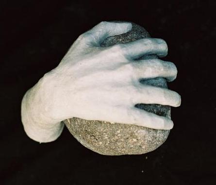 Mano y piedra - galeria: La magia del arte