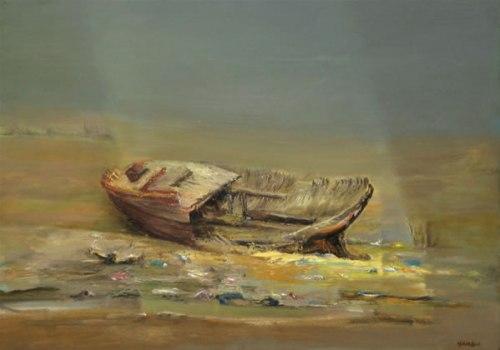 Sin retorno - Óleo sobre tela de Rubén Muñoz Abril