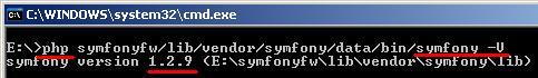 symfony_version