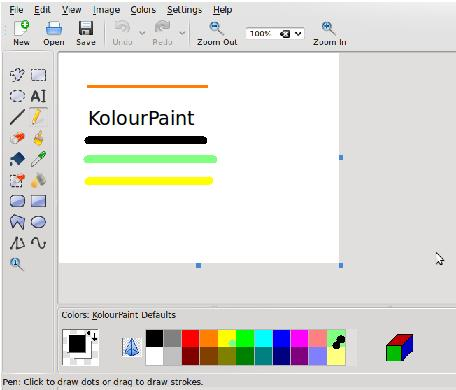 Linux mspaint con wine o alternativas gnu paint o Paint for linux